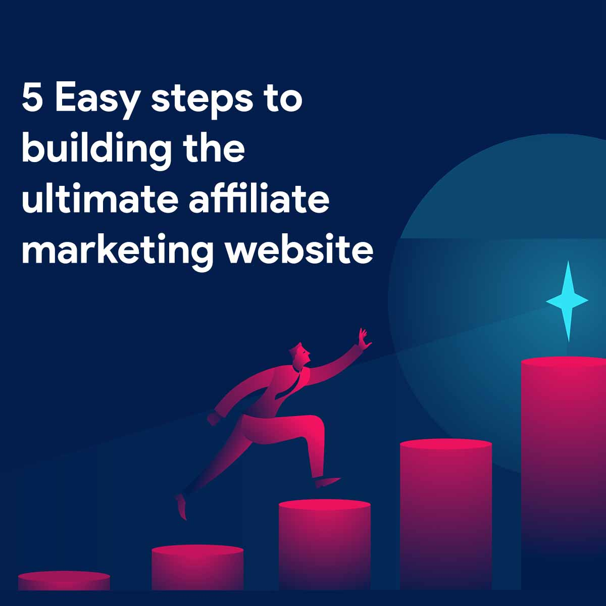 eBook - 5 Easy Steps to Building The Ultimate Affiliate Marketing Website
