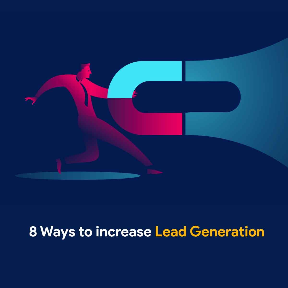 eBook - 8 Ways to increase Lead Generation
