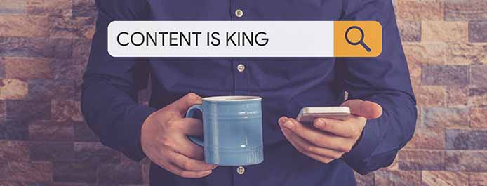 Fresh content will help you attract more leads and get noticed by Google's algorithm
